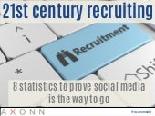 21st century recruiting: 8 statistics to prove social media is the way to go