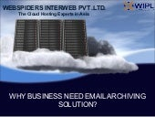 Why Businesses need Email Archiving?