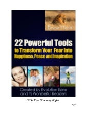 22 powerfultoolstotransformyourfear...