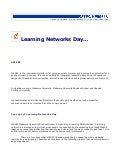 Learning Networks concept