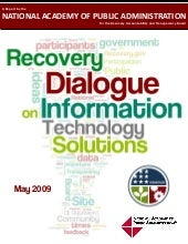 A Recovery Dialogue on IT Solutions
