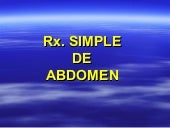 24 Placa Simple De Abdomen