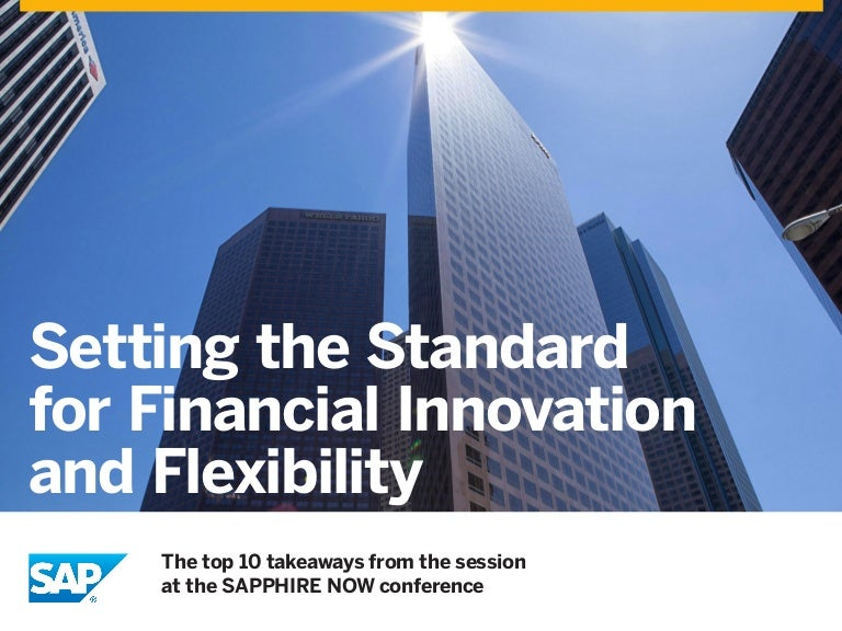Flexible Finance and Banking in the Cloud