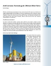 Anti-Corrosion Technology for Offshore Wind Farms
