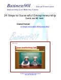 24 Steps to Successful Entrepreneurship
