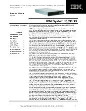IBM System x3690 X5 Product Guide