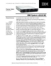 IBM System x3620 M3 Product Guide
