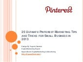 25 Ultimate Pinterest Marketing Tip...