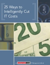 25 Ways To Cut IT Costs