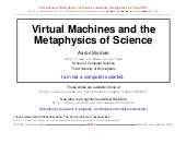 Virtual Machines and the Metaphysi...