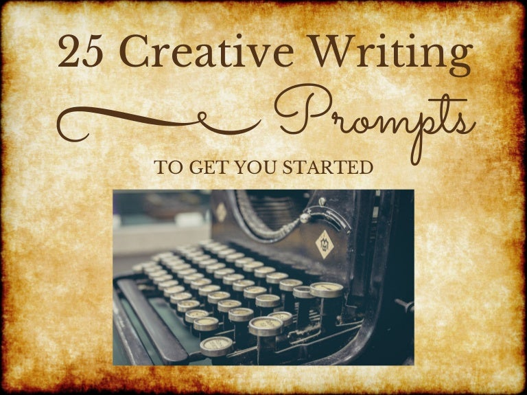 CREATIVE WRITING PROMPTS!?