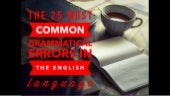 The 25 Most Common Grammatical Errors in the English Language