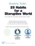 25 Habits for a Disruptive World