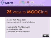 25 Ways to MOOCing