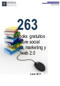 263 ebooks gratuitos sobre Social Media Marketing