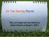 26 ways to Save Youslash_tax
