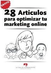 28 articulos para optimizar marketi...