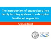 The introduction of aquaculture int...