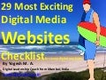 29 Most Exciting Digital Media Websites Checklist for every digital marketer