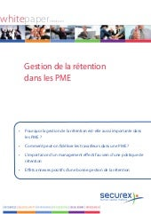 Whitepaper Gestion de la Rétention ...