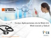 Web 2.0. Web social y salud. Blogs,...