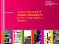 ECR Europe Forum '05. Category Management in a limited data environment. Case Study Diageo Quinns
