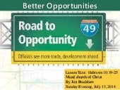 M2014 s53 better opportunities 7 13-14 sermon
