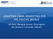 Adapting Email Marketing for the Po...