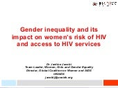 Gender Inequality and its Impact on...