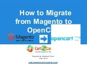 How to Migrate from Magento to Open...