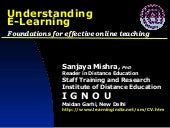 Understanding E-Learning: Foundatio...