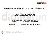 Master Digital Entertainment - IULM...