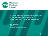 The role of clinical research in se...