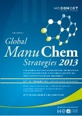 2nd annual global manu chem strategies 2013 agenda