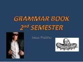 2nd semester grammar book