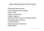 2 operating system structures