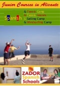 Spanish Programmes For Juniors In Spain 2009