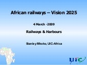 African Railways Vision 2025