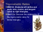 2 trigonometric ratios conglomerate...