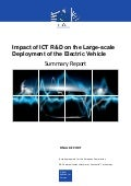 Impact of ICT R&D on the deployment of electric vehicles