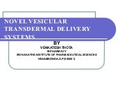 novel vesicular transdermal