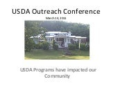3 14-2011 usda outreach conference