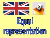Democracy in Britain - equal representation
