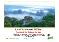 Land tenure and REDD+: the good, the bad and the ugly