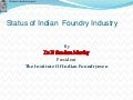status of indian foundry industry