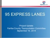 95 Express Lanes Project Update