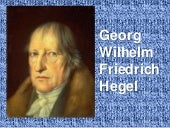 Hegel y el idealismo hegeliano