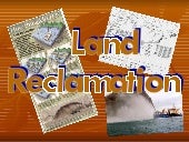 3 Land Reclamation Ppt