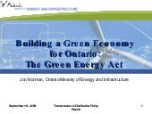 Ministry of Energy - Building a Gre...