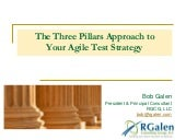 The 3 Pillars Approach to Agile Testing Strateg with Bob Galen & Mary Thorn